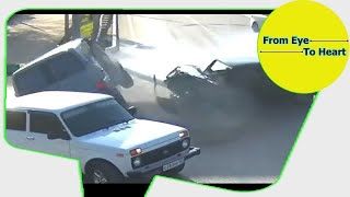Car Crash and Slip , Slide Rain and Winter Weather Compilation OCTOBER 2017 (1208) HD