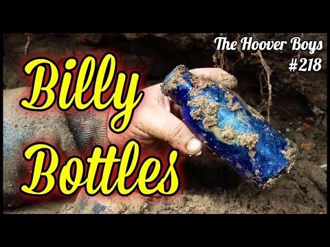 RARE 1800's Bottles Found Digging Trash Dump! Stoneware, Soda, Medicine, Ink & More