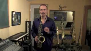 How to Get a Big Sound on The Saxophone - Embouchure & Air Flow