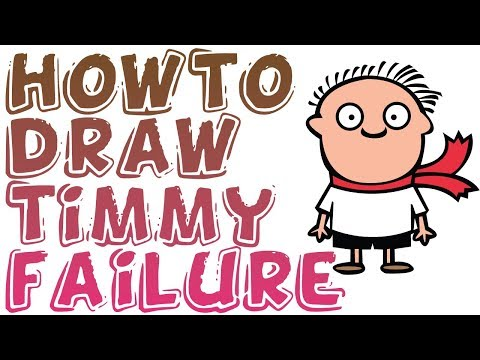 How To Draw Timmy Failure's Idiot Best
