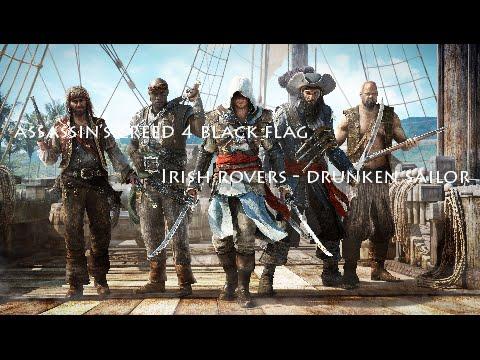 Assassins Creed 4 Black Flag - Drunken Sailor (Irish Rovers)