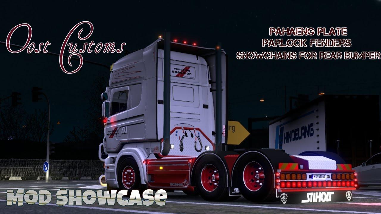 Oost customs mod showcase euro truck simulator 2 youtube