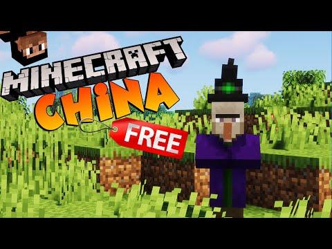 "Minecraft CHINA ""Free to Play"""