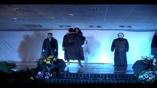 Angels and Demons theme being performed at the fashion Show of Konflux IBS 2014.