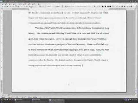 Synthesis Essay Introduction