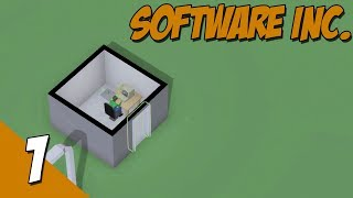 Software Inc Alpha 9 | Let's Play Software Inc. PART 1 | Green Tech. HardWare Mod