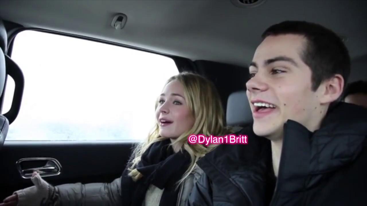 Hvor lenge har Dylan OBrien blitt dating Britt