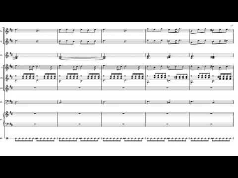 entangled genesis reworked (1976) With full score