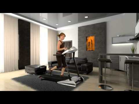 tapis de course techness run 100 tool fitness youtube. Black Bedroom Furniture Sets. Home Design Ideas