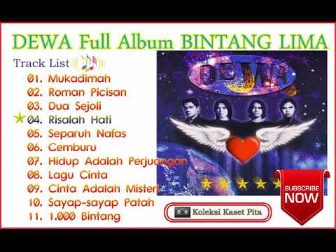 DEWA Full Album - BINTANG LIMA