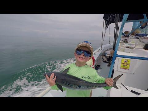 4 Yr Old Catches Tuna| Kellan Hunt