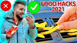 "Funniest ""FOOD HACKS FOR 2021"" 