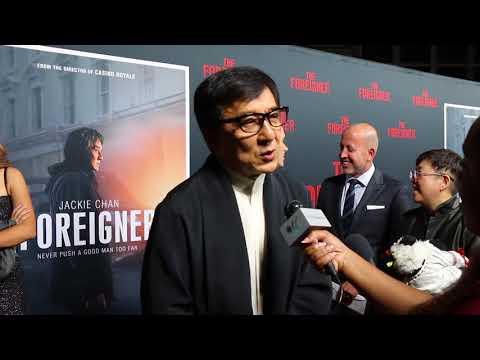 Jackie Chan Talks Rush Hour 4 | Interview | THAheadline