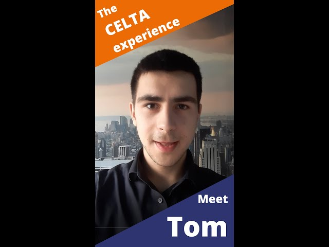 What is the 100% Online CELTA course like? Find out from graduate Tom.