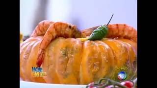 Edu Guedes ensina receita de camarão na moranga de dar água na boca #Receitas