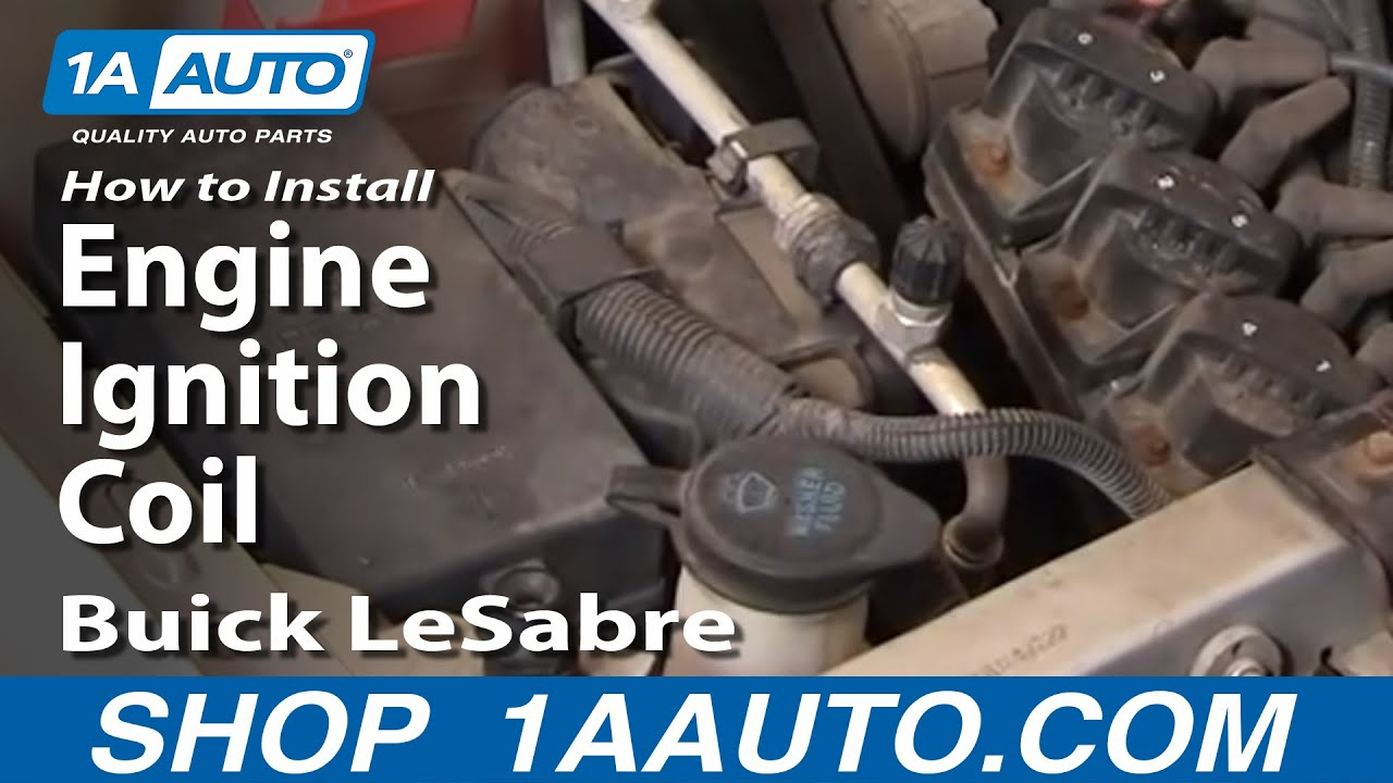 how to install replace engine ignition coil buick lesabre 3800 rh youtube com