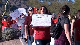 Arizona teacher shares pay stub, sparking a national debate