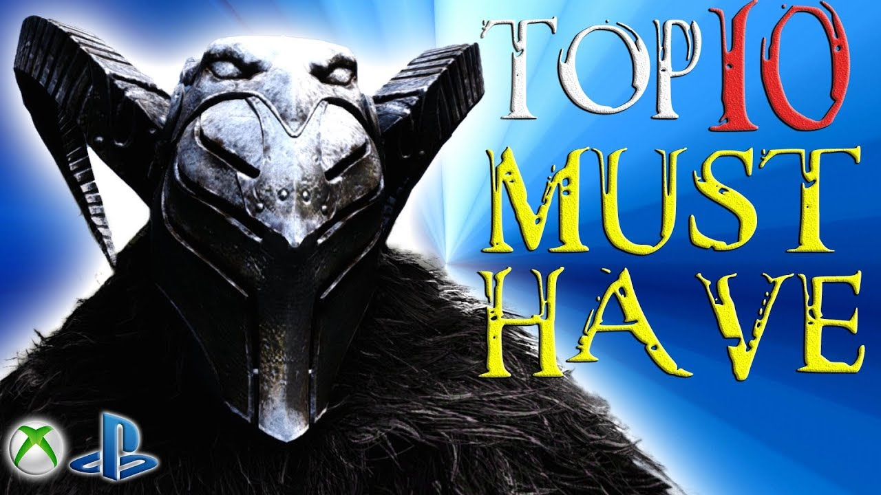 Skyrim Special Edition Top 10 MUST HAVE Mods