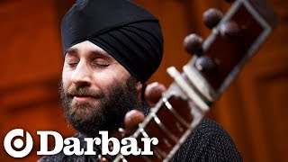 Harmeet Virdee on sitar with Bhupinder Chaggar on tabla - Darbar Festival 2009