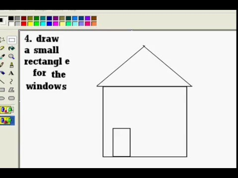 how to draw accurately in mspaint