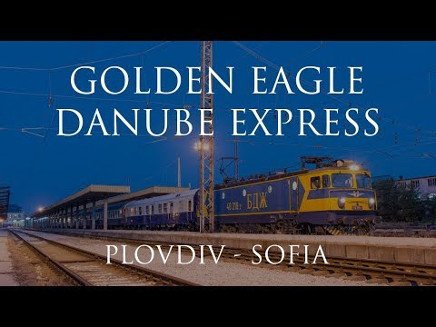 Cab Ride Bulgaria 🛤 Golden Eagle Danube Express 2017: from Plovdiv to Sofia