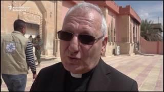 Head of Chaldean Catholic Church Tours Damaged Churches Near Mosul