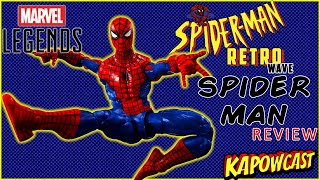 MARVEL LEGENDS SPIDER-MAN RETRO WAVE SPIDER-MAN REVIEW
