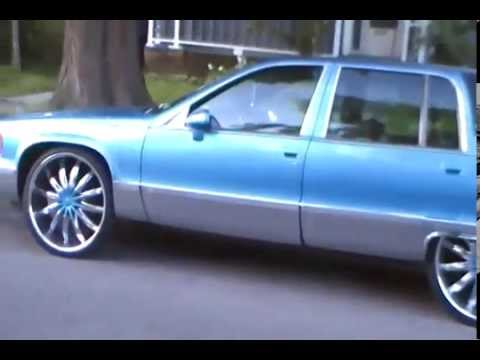 metallic blue fleetwood on 24 s ruff buff youtube metallic blue fleetwood on 24 s ruff