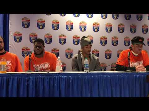 Oklahoma State Press Conference -- 2018 Liberty Bowl (Part 1)