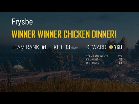 13 Kill Game, The M249 Shreds! PUBG Xbox One