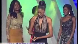 GHANA MOVIE AWAEDS 2013 YVONNE NELSON WINS BEST ACTRESS