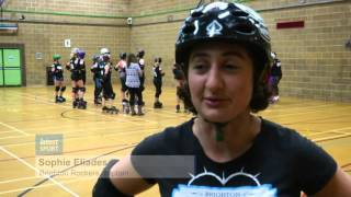 Brighton Rockers roller derby team want more girls to try the sport