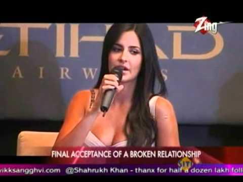 Katrina publicly admits Split with Salman