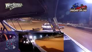 #10 Jordon Benefield - Bomber - 6-9-18 West GA Speedway - In Car Camera