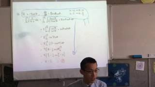 Extension 2 Exam Review (1 of 7: Integration by Substitution, Partial Fractions)