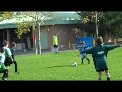 Oslo and Kobe at Soccer