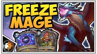 Hearthstone: Legend DEEP Freeze Mage - Rise Of Shadows