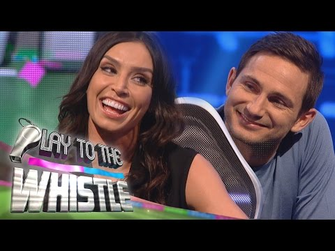 Christine Bleakley & Frank Lampard Argue Before the Show | Play to the Whistle