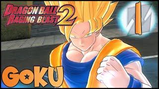 Dragon Ball Raging Blast 2 (PS3) | Modo GALAXIA | GOKU | #1 | CUSTEM