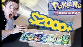 $2000+ Pokemon RARE VINTAGE Mystery Box!!!!