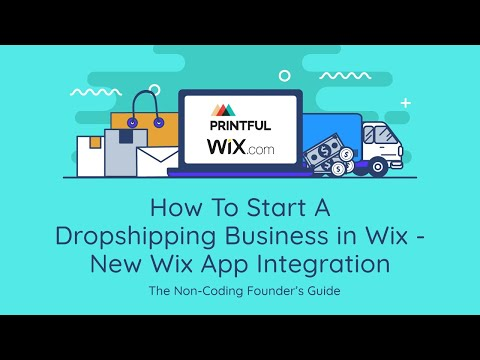 How To Start A Dropshipping Business on Wix | Adding A Dropshipper to Wix | Updated 2019 thumbnail