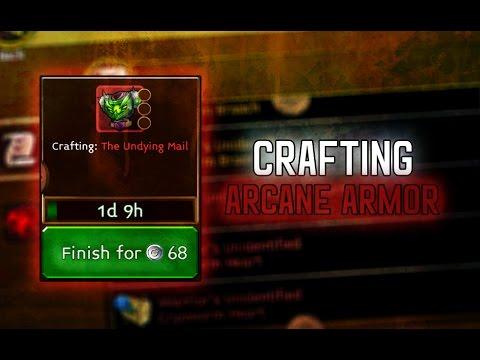 Arcane Legends - Crafting Arcane Armor