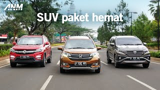 Komparasi Low SUV 7-Penumpang - Toyota Rush vs Honda BR-V lawan DFSK Glory 560