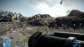 Battlefield 3 Test using 2 BFG 8800 GT OC 512mb DDR3 (SLI) 1920x1200 Kharg Island