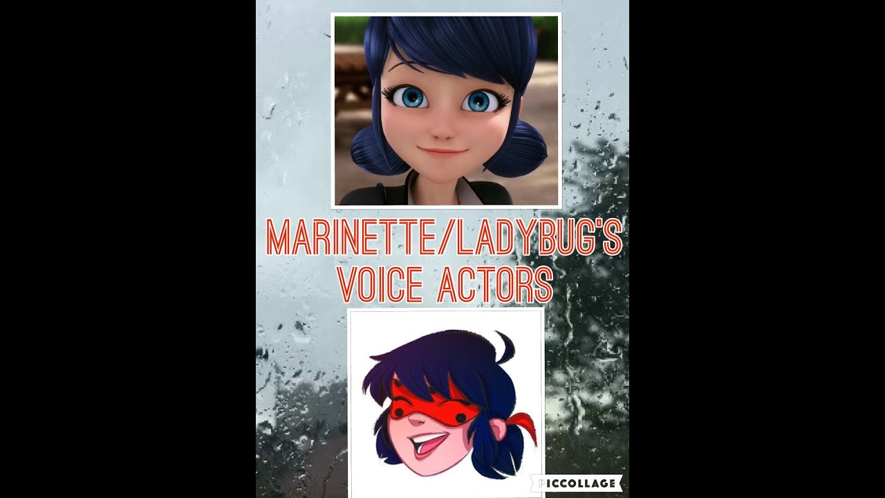 miraculous ladybug marinette ladybug s voice actors french