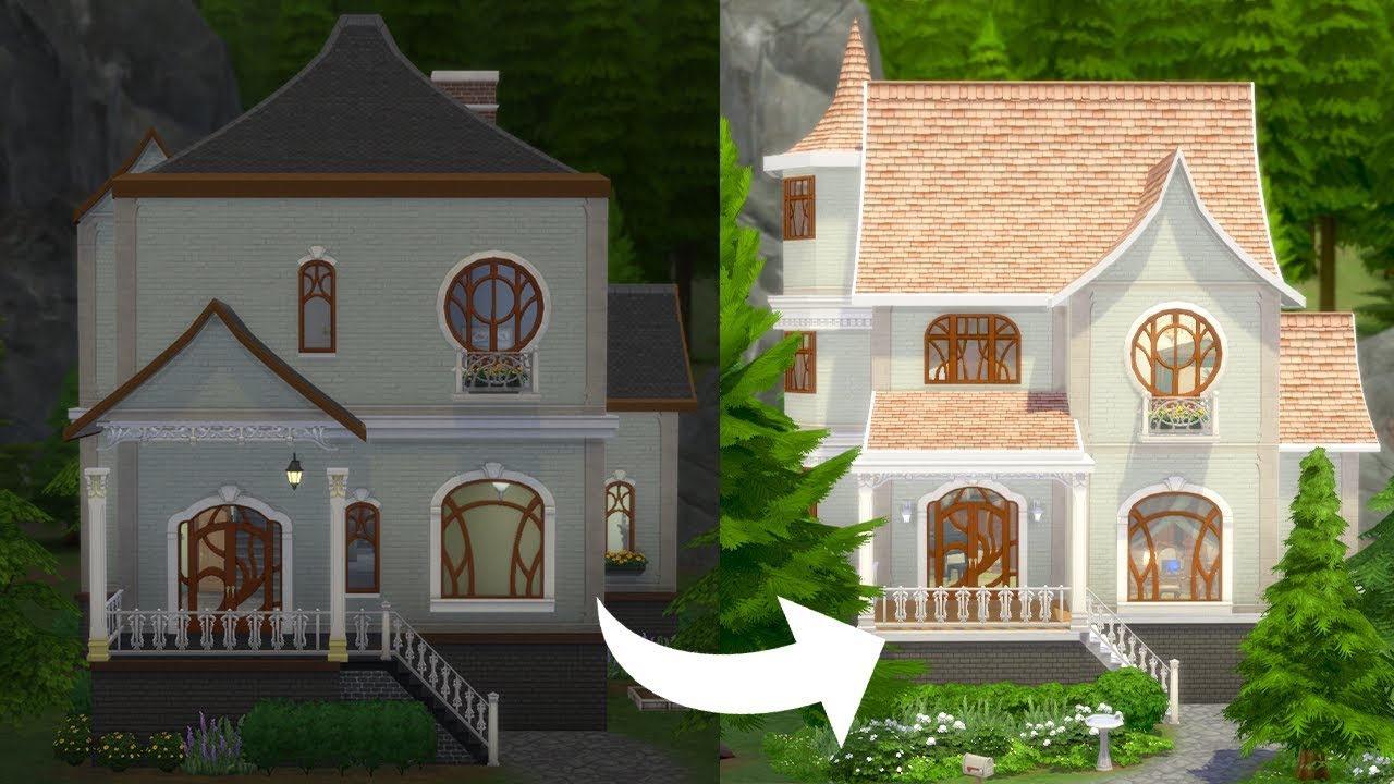The Sims 4: Realm of Magic has AWFUL houses   but can I fix them?