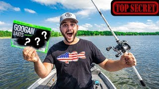TOP SECRET Fishing with UNRELEASED GOOGAN BAITS!!!! (Its Fire)