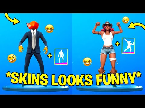 Fortnite Skins Looks Funny With Built-In Emotes