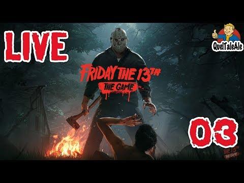 Friday the 13th: The Game - LIVE #03 - Meglio soli che male accompagnati