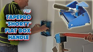 How to Finish Drywall Joints Easier using Tapepro